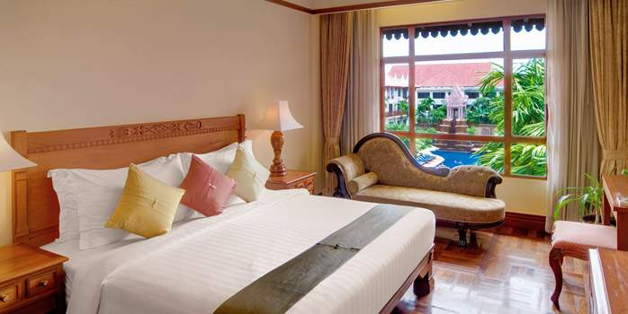 Sokha Angkor Hotel, Junior Suite, Golf Holiday in Cambodia