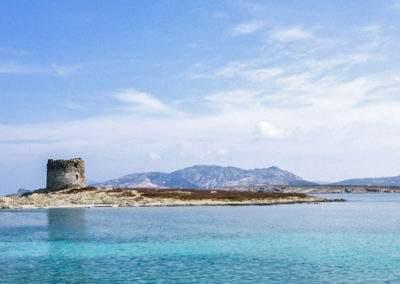 Stintino coastline