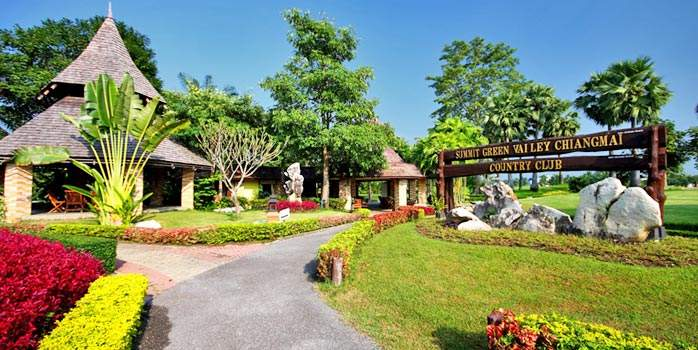 Summit Green Valley Chiang Mai Country Club, Golf Holiday in Thailand