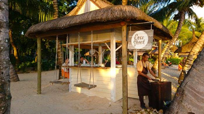Coco Shack at the Heritage Awali, Mauritius