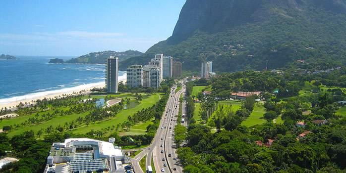Gávea Golf Course Rio De Janeiro Brazil Golf Holiday