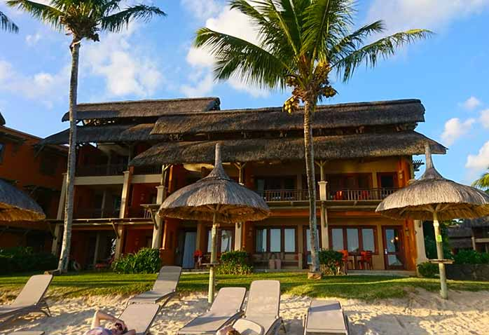 Heritage Awali, Mauritius Ocean View room right on the beach