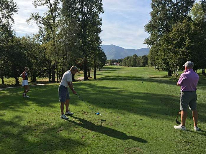 Jacques Ecorted Golf Tour Italy Turin Royal Park I Roveri Golf Club