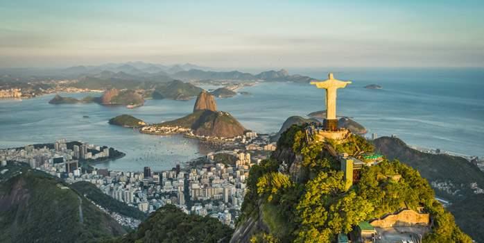 Christ the Redeemer Rio De Janeiro Brazil Golf Holiday