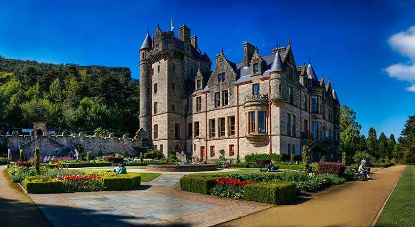 belfast-castle-ireland-golf-vacations