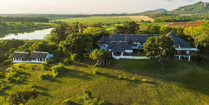 Aerial View Buhala Game Lodge South Africa Golf Holiday