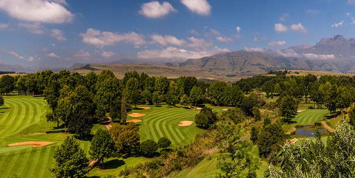 Golf Course Champagne Sports Resort South Africa Golf Holiday