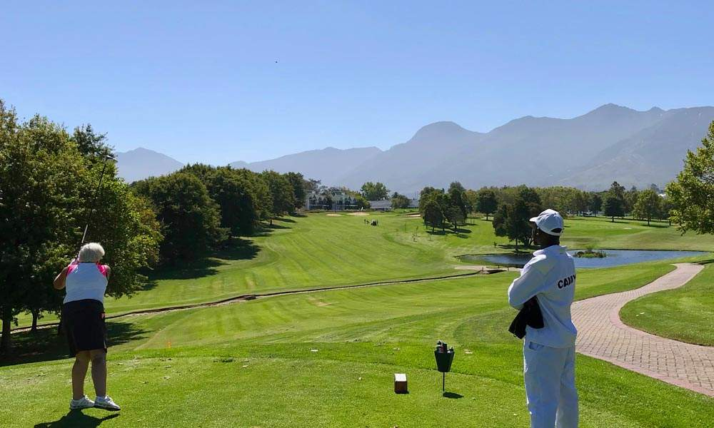 Some of my clients playing golf on Fancourt