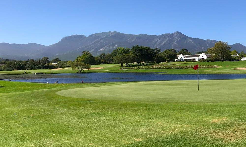 View of the mountains from Fancourt Golf Course