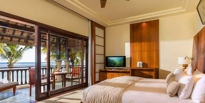 Junior Suite Ocean View Shanti Maurice Mauritius Golf Holiday
