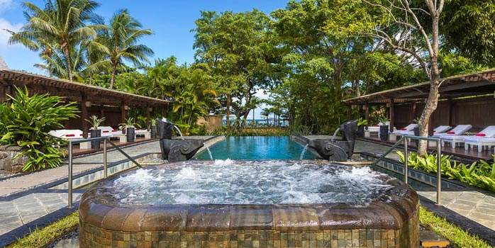 Spa Jacuzzi Shanti Maurice Mauritius Golf Holiday