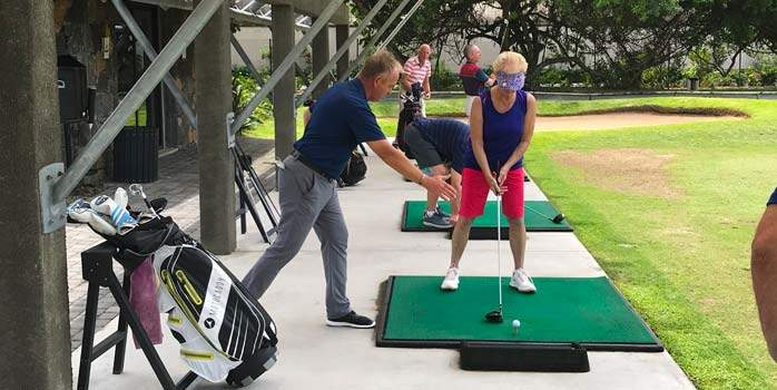 Mauritius Mixed Pairs Golf Tournament 2019 Golf Tuition with Jacques