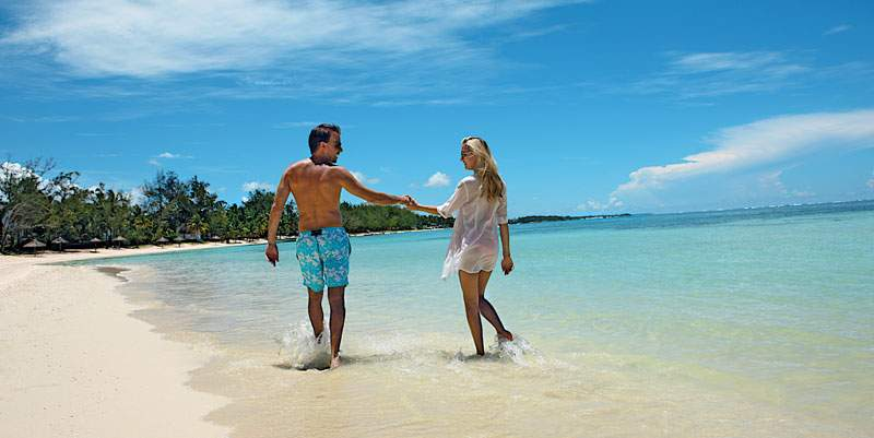 Mauritius Wedding Honeymoon Beach