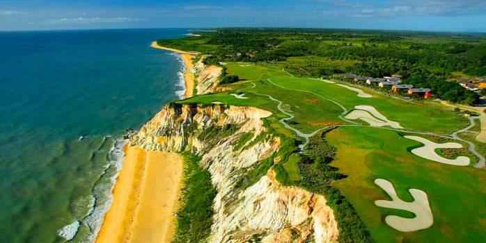 Villas overlooking the golf course Terravista Vilas Trancoso Brazil Golf Holiday