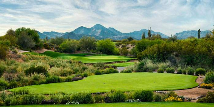 Chola Golf Course Scottsdale Arizona WM Phoenix Open USA Golf Tour
