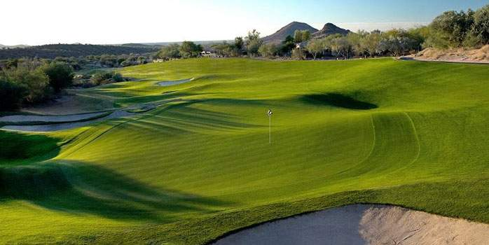 Eagle Mountain Golf Course Scottsdale Arizona WM Phoenix Open USA Golf Tour