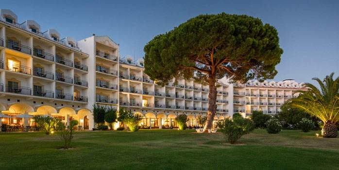 Exterior View Penina Hotel Golf Resort Portugal Golf Holiday Algarve