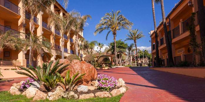 Exterior View Hotel Guadalmina Costa Del Sol Malaga Spain Golf Holidays