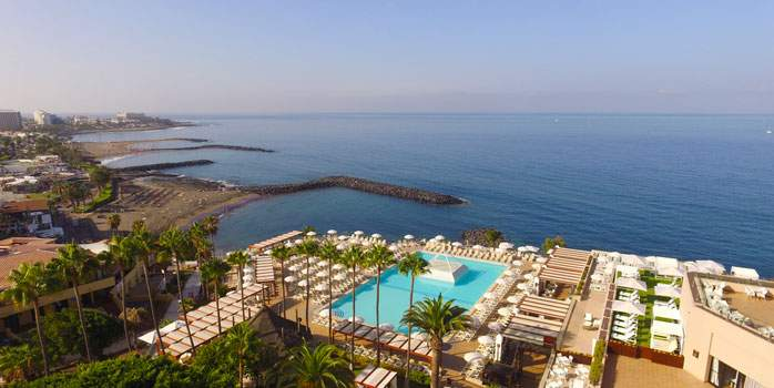 Aerial View Iberostar Bouganville Playa Tenerife Golf Holidays