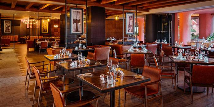 Restaurant View Ritz Carlton Abama Tenerife Golf Holidays