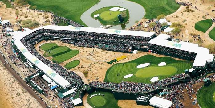 TPC Scottsdale Arizona WM Phoenix Open USA Golf Tour