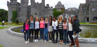 Yale Women's Basketball Team Ireland Sports Tour