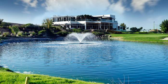 Ghala Golf Club Oman Clubhouse Middle East Luxury Golf Travel Chaka Travel