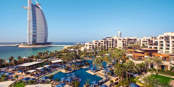 Jumeirah Al Naseem Burj Al Arab United Arab Emirates Golf Holidays Luxury Middle East