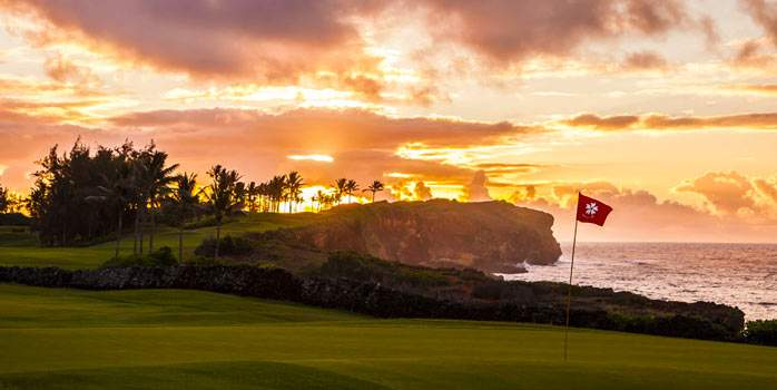 Poipu Bay Golf Course Kauai Hawaii Golf Holiday USA