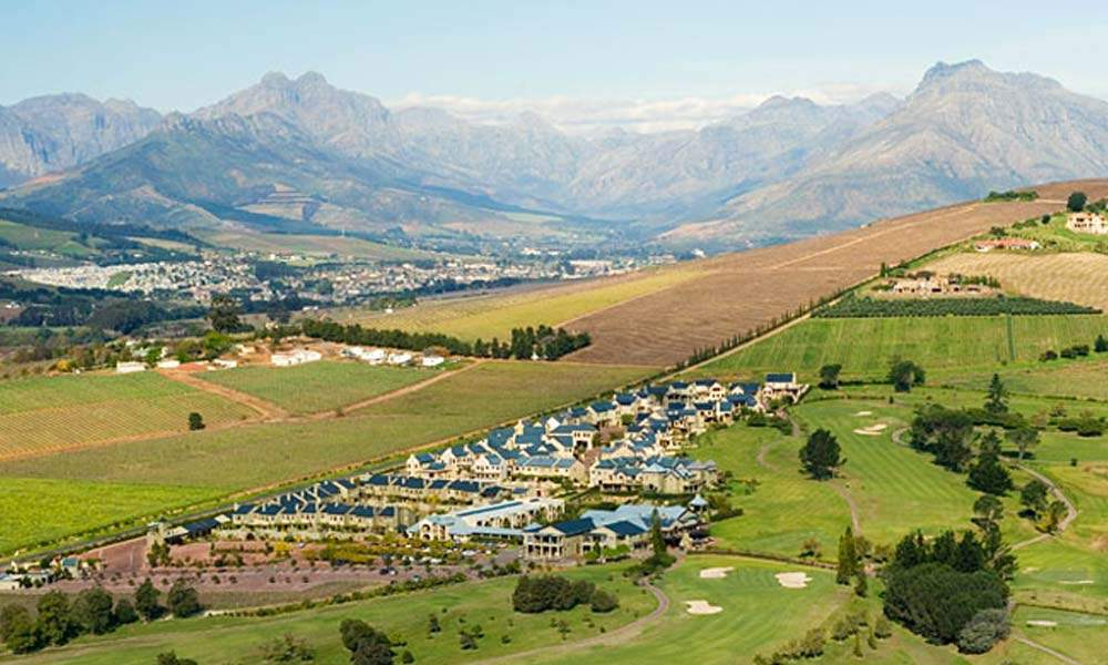 south africa cape winelands luxury golf holiday chaka travel devonvale estate club course
