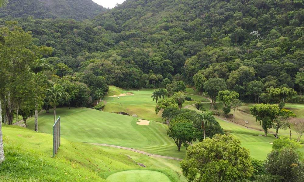 The course at Gavea Golf Club & Country House