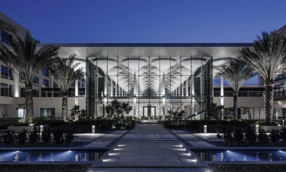 The Kempinski Hotel Exterior, Oman.