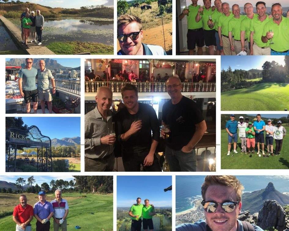 Mark & Kallams South Africa Trip Collage