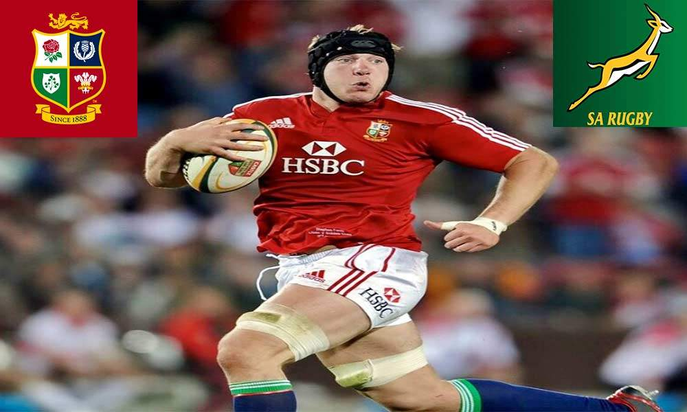 Stephen Ferris - South Africa Lions Rugby