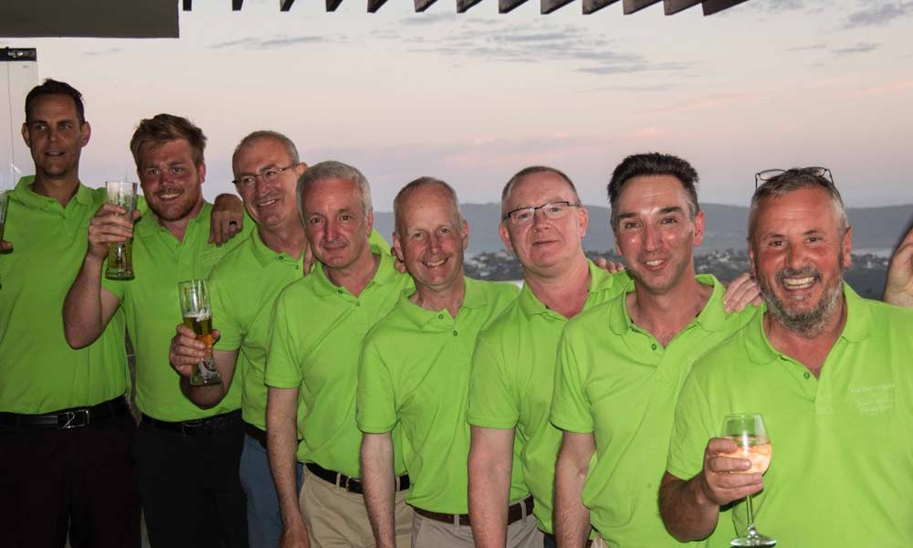 Team NI who defeated team South Africa on the final day at Simola