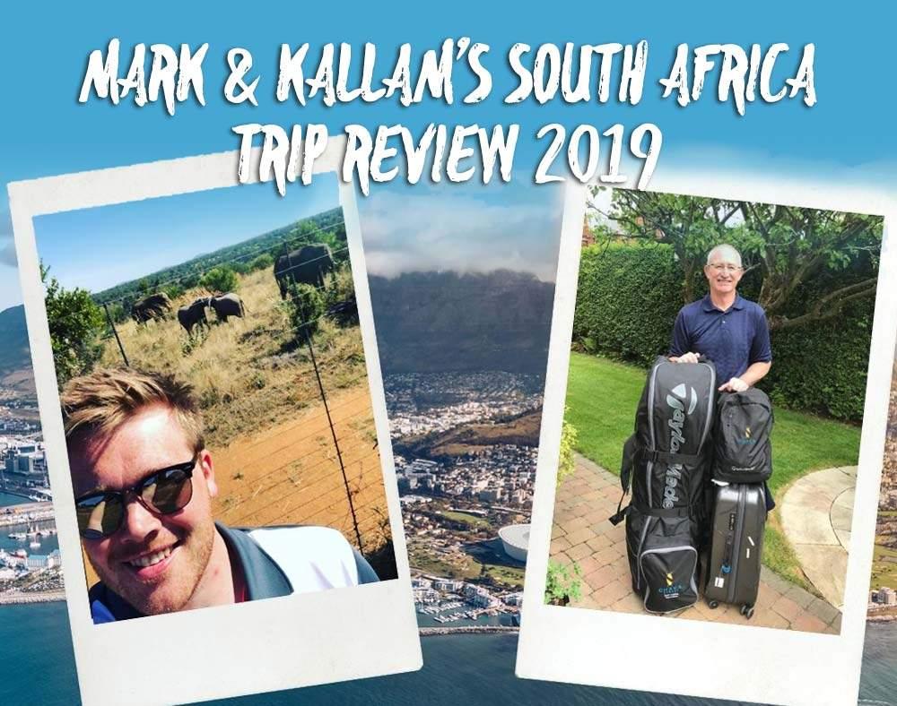 Mark & Kallam Visit South Africa