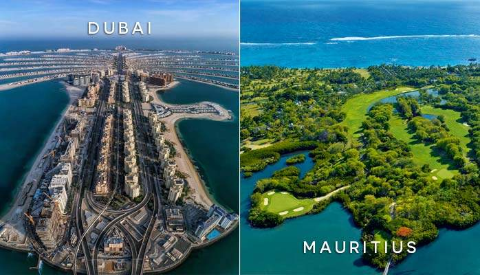 Middle East and Mauritius Twin Centre Holiday