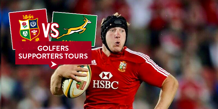 2021 South Africa Lions - Rugby & Golf Tour
