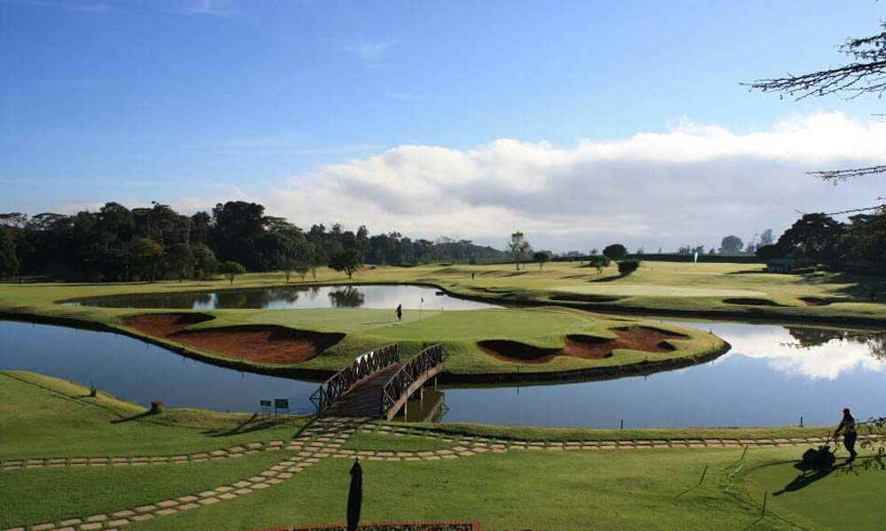 The final holes at Windsor Golf Hotel & Country Club, Nairobi, Kenya